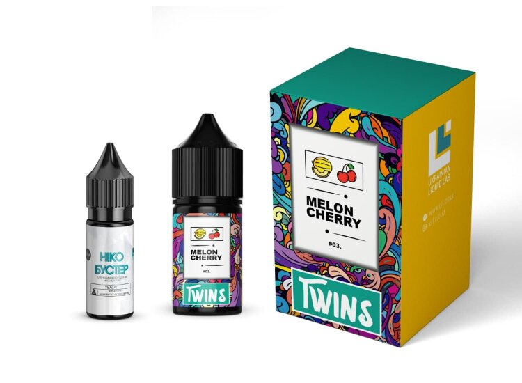 Набор TWINS SALT - Melons Cherry 50 mg (30 ml.) - TWINS (Salt)
